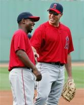 Mark Teixeira has a laugh with Chone Figgins.jpg