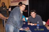 Brandon Wood signs an autograph and poses with a fan.jpg