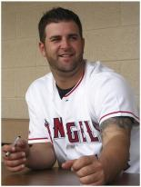 Mike Napoli signs autographs at an Angels Youth Baseball Clinic.jpg