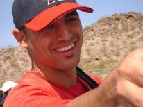 Sean Rodriguez smiles during spring training 2007.jpg